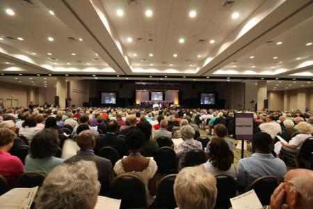 Methodist Convention General Session at The Classic Center in Athens, GA