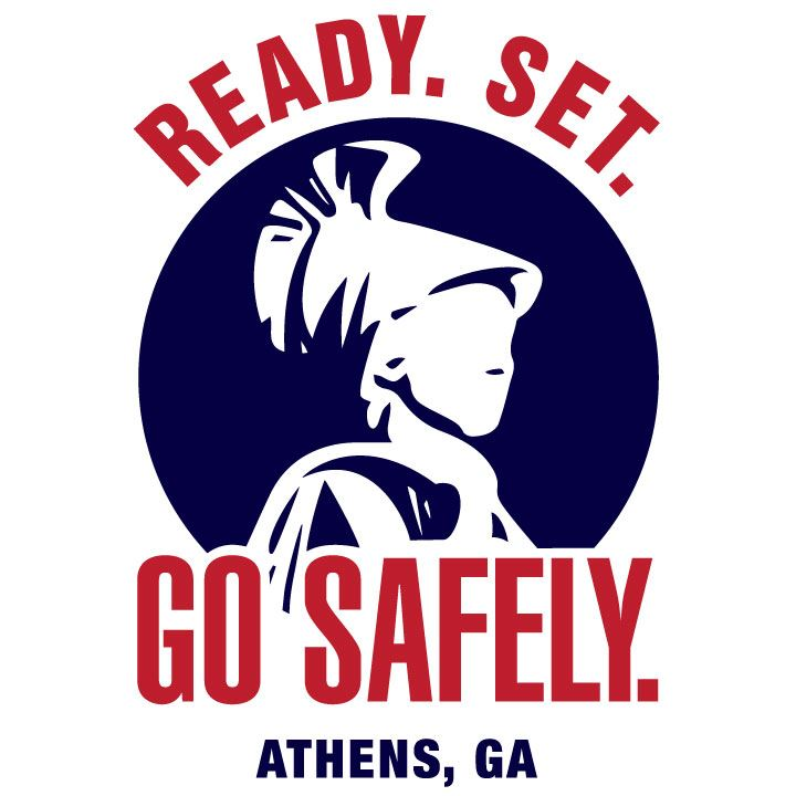 Ready, Set, Go Safely.  Athens, GA